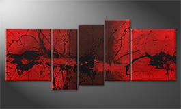 Le tableau mural 'Summer Heat' 190x80cm