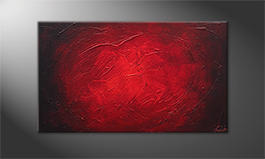 Le tableau mural 'The Glow' 100x60cm
