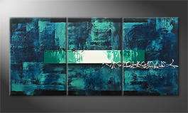 Le tableau mural 'Underwater Light' 150x70cm