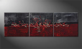 Le tableau mural 'Winter Warmth' 180x60cm