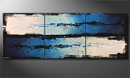 Le tableau pour salon 'Against The Drift' 270x100x4cm