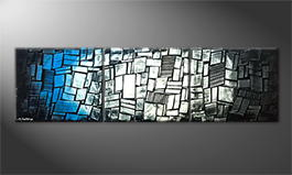 Le tableau pour salon 'Cold Night' 210x60cm