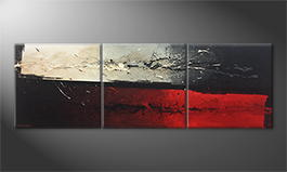 Le tableau pour salon 'Heaven and Hell' 210x70cm