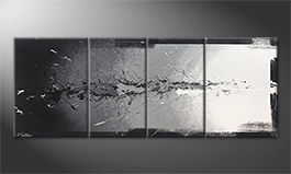 Le tableau pour salon 'Light Splasher' 180x70cm