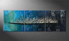 Le tableau pour salon 'Pacific Secret' 180x60cm