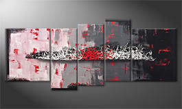 Le tableau pour salon 'Resolution Of Contrast' 190x80cm