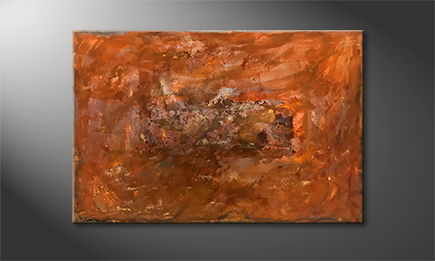 Le tableau pour salon 'Rusty Artifact' 120x80cm