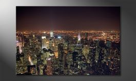 L'impression sur toile 'Big Apple'