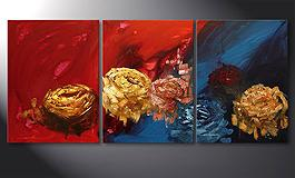 'Spirit of Roses' 180x80cm Tableau