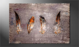Décor moderne<br>'Four Feathers'