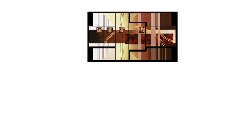 La toile pour salon golden ways 130x70cm tableaux xxl for Bureau 130x70