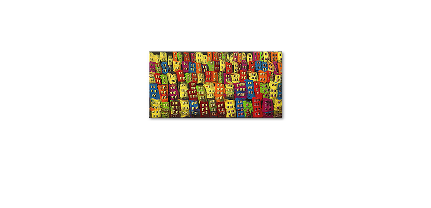Le tableau mural Beauty of a City 120x60cm