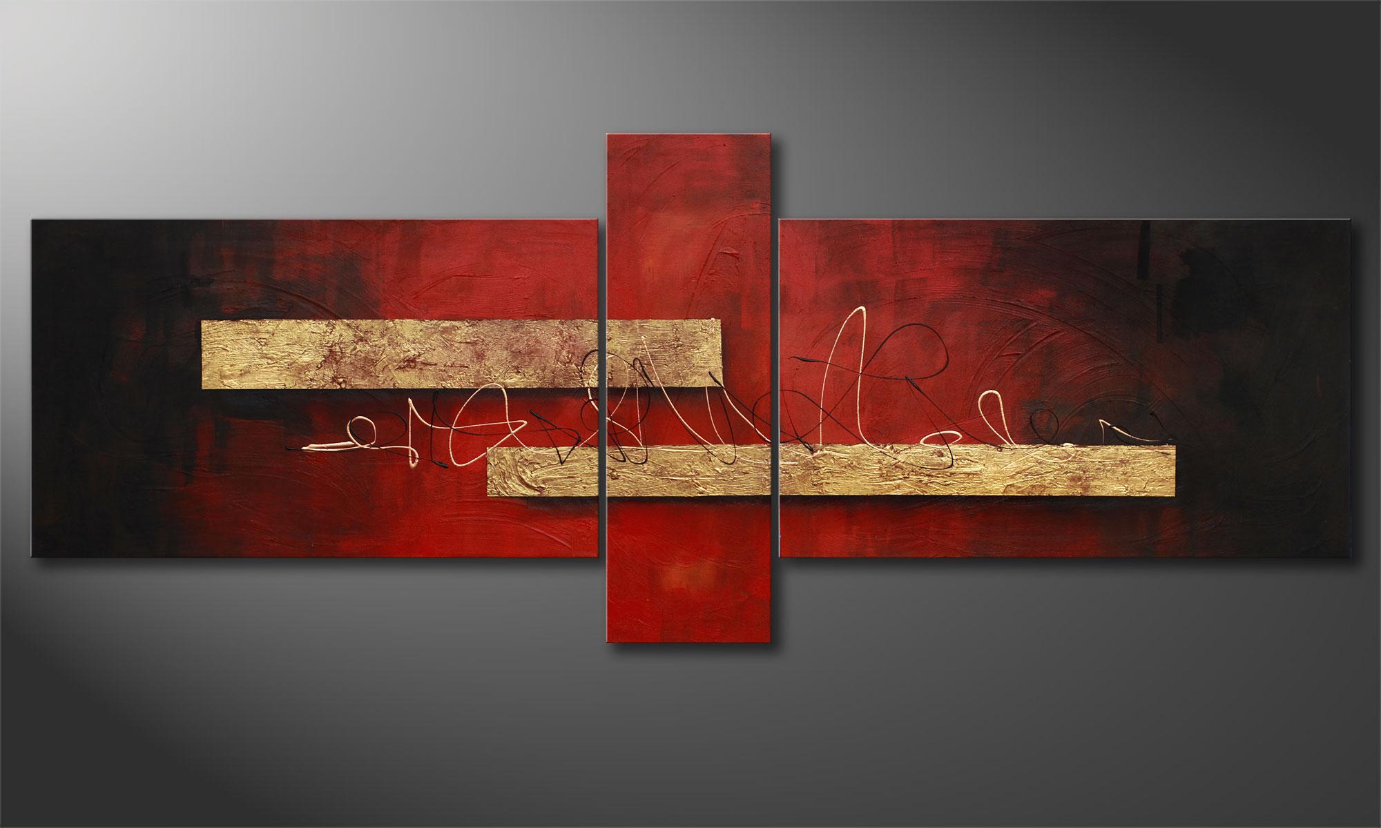 le tableau mural sense of delight 230x90cm tableaux xxl. Black Bedroom Furniture Sets. Home Design Ideas