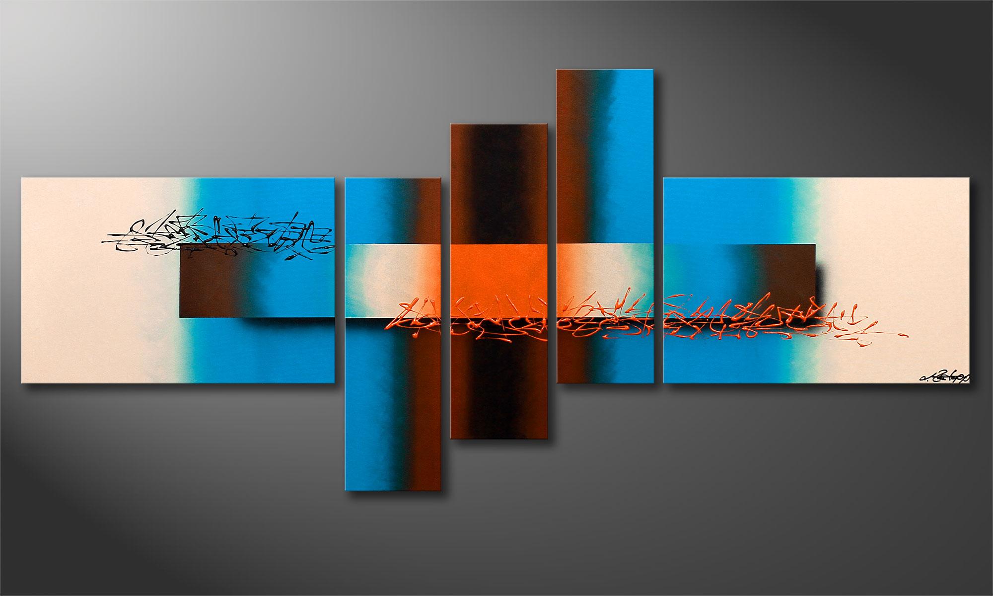 le tableau mural moderne summer spirit 180x80cm. Black Bedroom Furniture Sets. Home Design Ideas