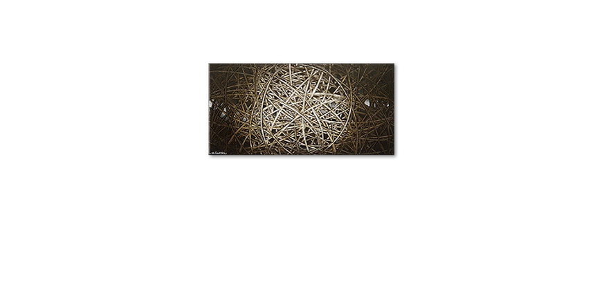 Le tableau mural Energy of Earth 120x60cm