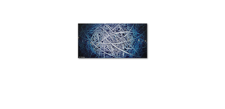 Le tableau mural Energy of Water 120x60cm