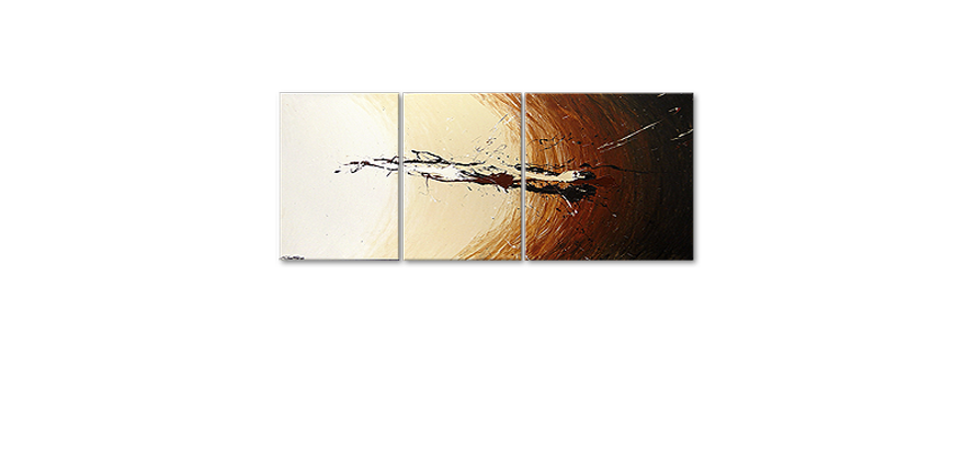 Le tableau mural Power of Earth 170x70cm