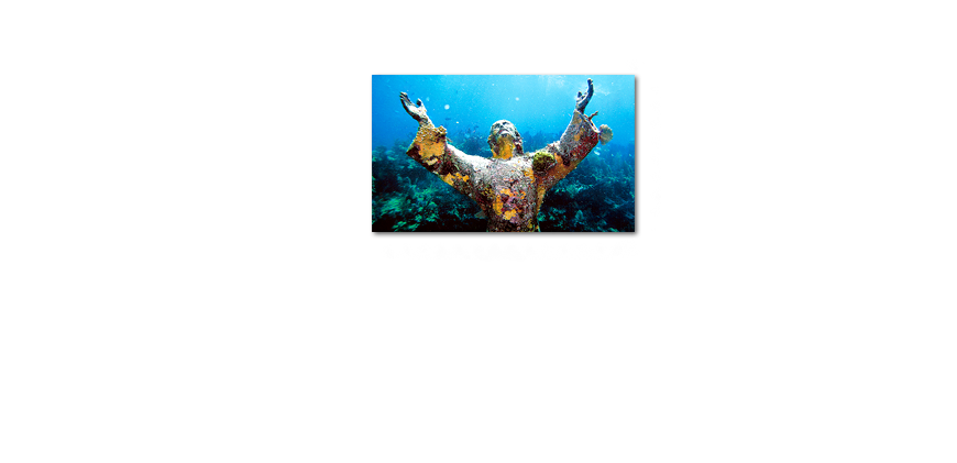 La toile moderne Christ of �the �Abyss 100x60cm