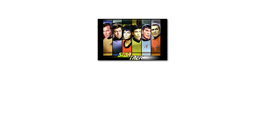 Le tableau design star trek crew 100x60cm tableaux xxl for Tableau design xxl
