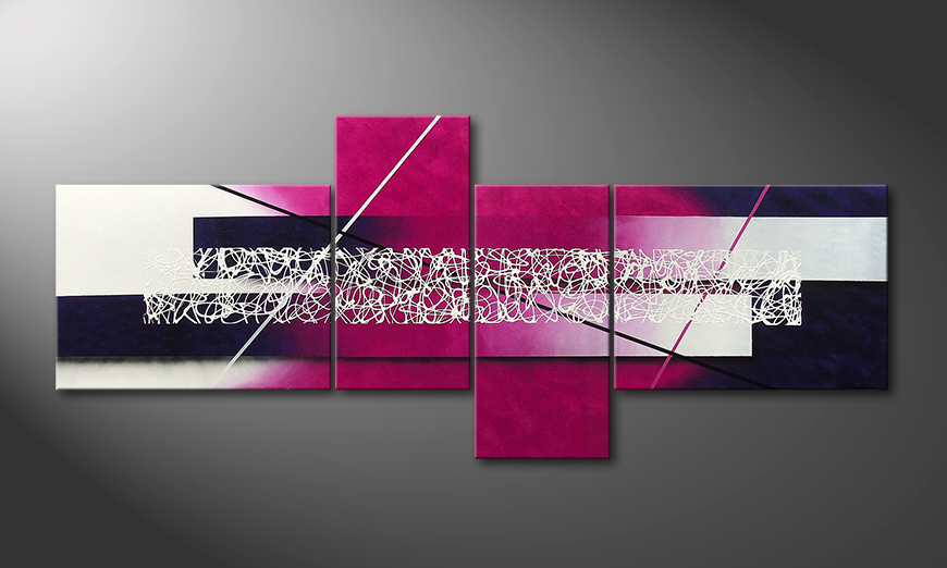 La toile moderne Connections 240x100x2cm