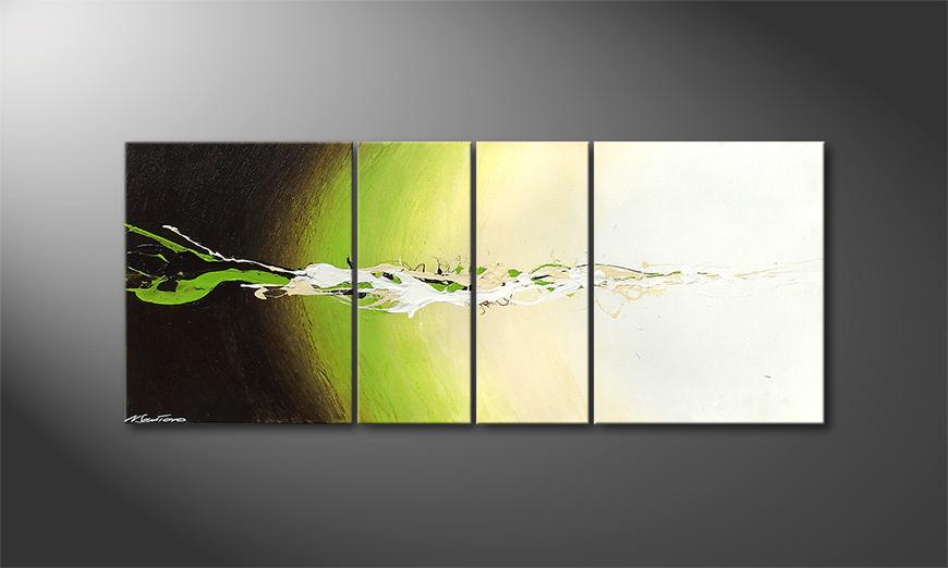 La toile moderne Fruity Splash 120x50x2cm