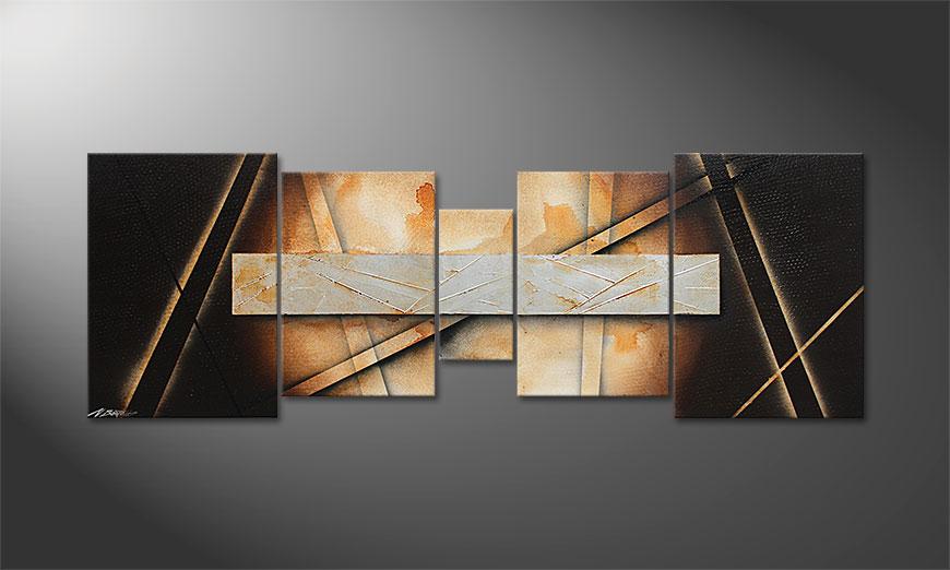 La toile pour salon Desert Treasure 200x70x2cm