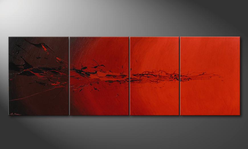 La toile pour salon Devil Splash 230x80x2cm
