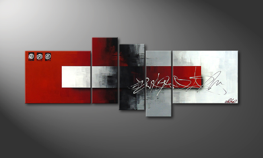 Le tableau moderne Clear Thought 160x60x2cm