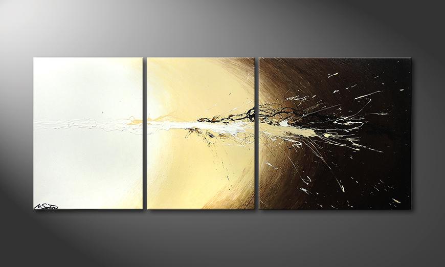 Le tableau mural Exploded Light 170x70x2cm