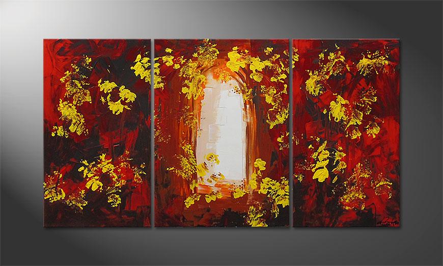 Le tableau mural Garden Gate 130x70x2cm