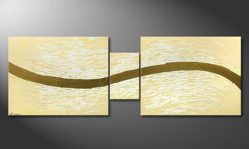 Le tableau mural Gentle River 230x80x2cm
