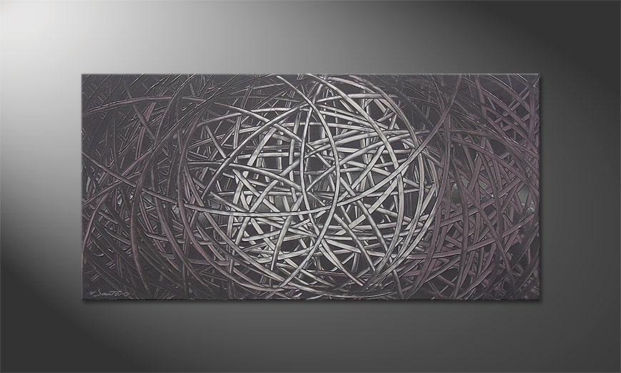 Le tableau mural Moonshine 120x60x2cm
