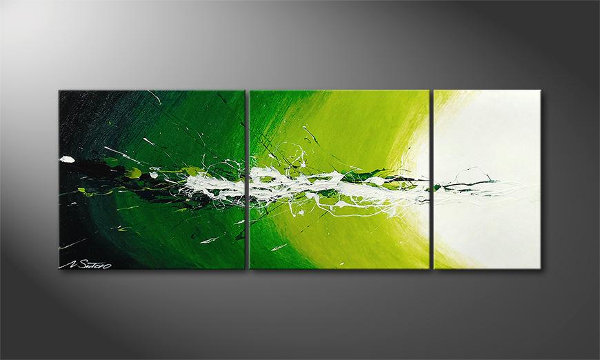 Le tableau mural Spring Splash 130x50x2cm
