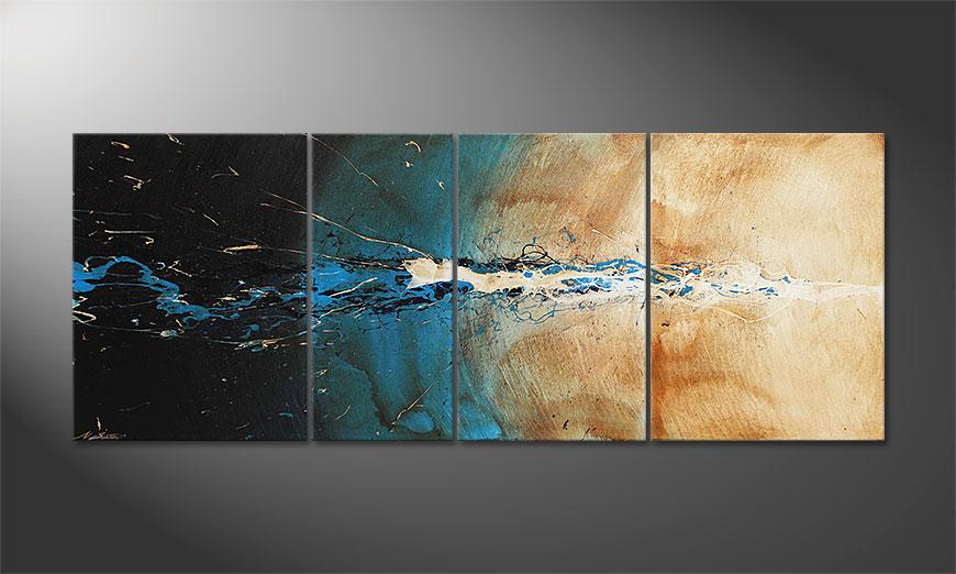Le tableau mural The Source 170x70x2cm