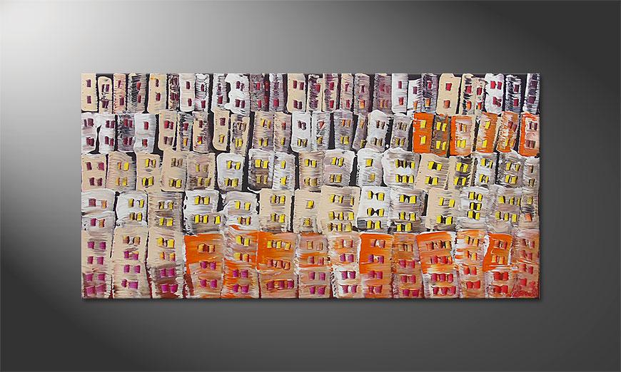 Le tableau mural Urban Desert 120x60x2cm