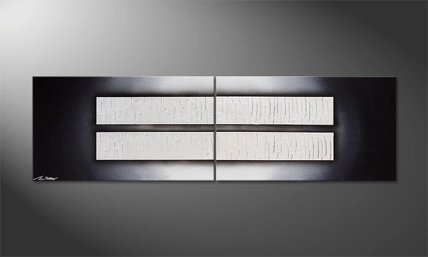 Le tableau pour salon Mirroring 170x50x2cm