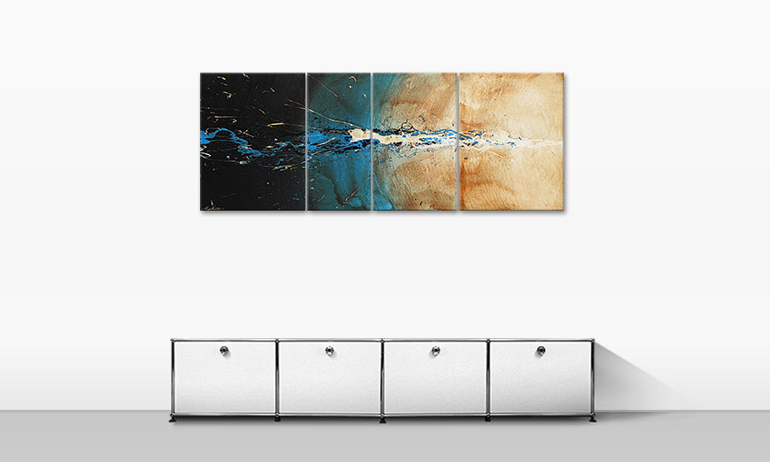Le tableau mural The Source 170x70cm