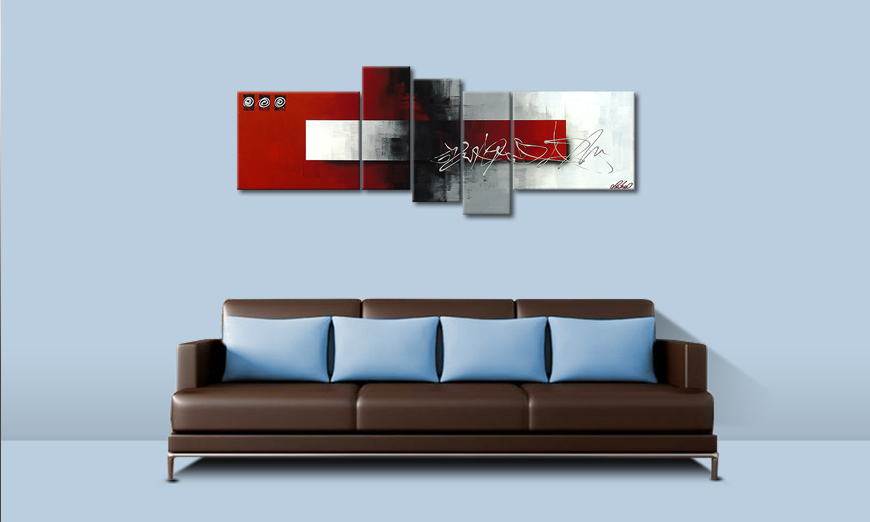 Le tableau moderne Clear Thought 160x60cm