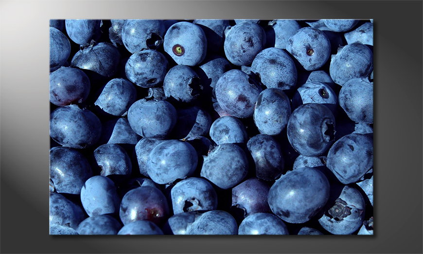 Blueberries Tableau