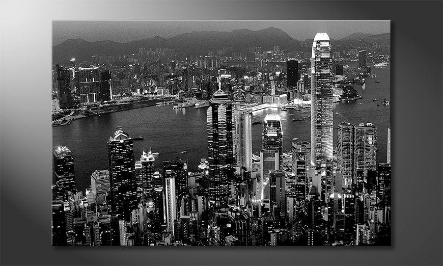 Décor moderne Hongkong View