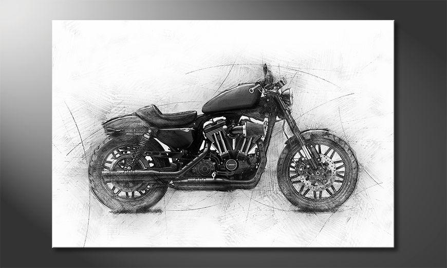 Décor moderne Motocycle Uno