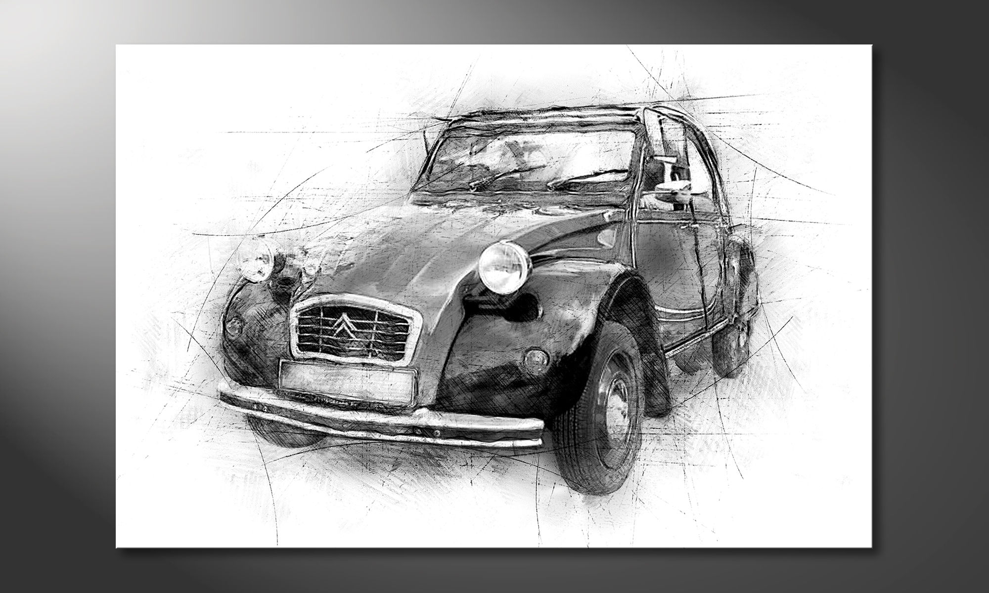d u00e9cor moderne the 2cv
