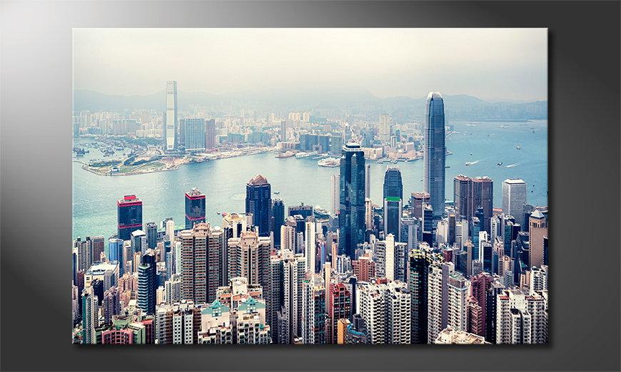 Hongkong Skyline Tableau