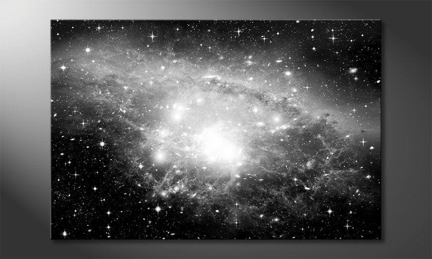 Impression sur toile Galaxy