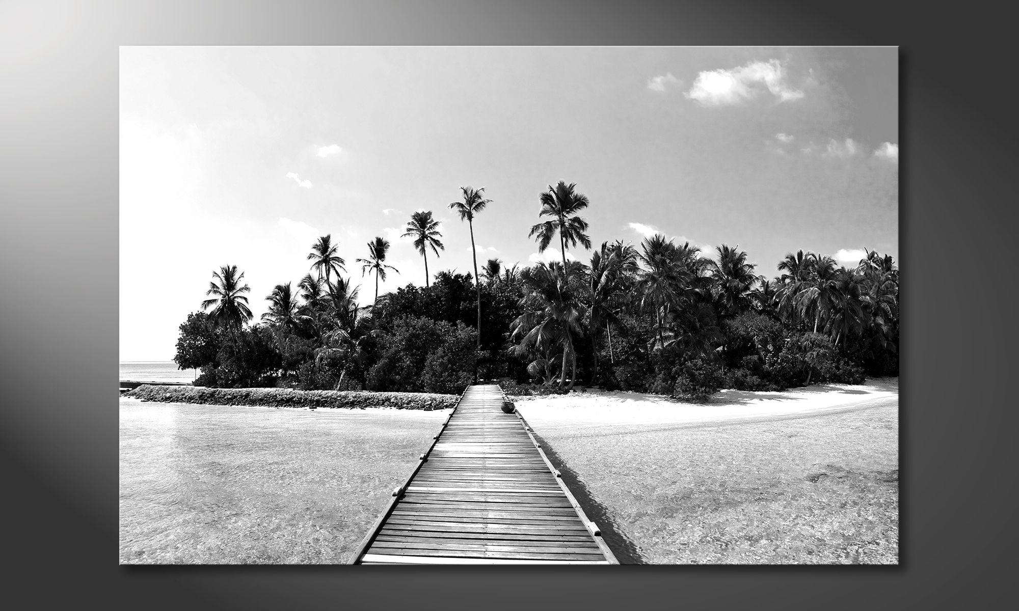impression sur toile tropical maldives tableaux xxl. Black Bedroom Furniture Sets. Home Design Ideas