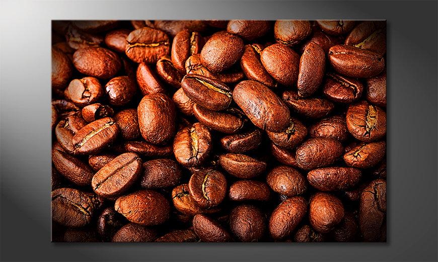 L'impression sur toile Coffee