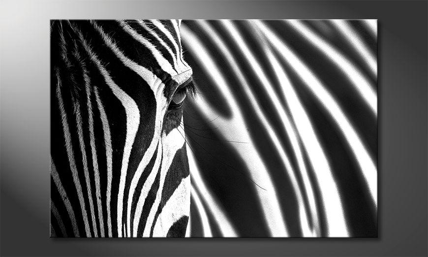 La belle peinture Animal Stripes
