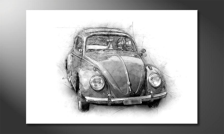 La belle peinture Beetle