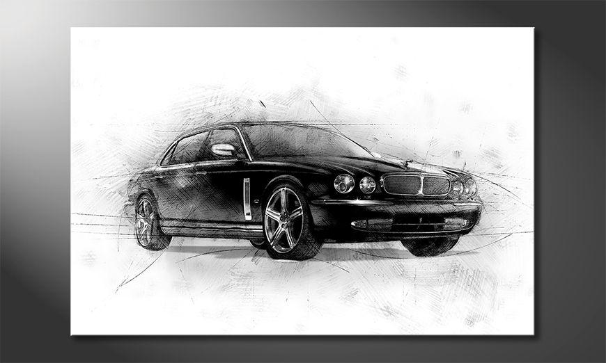 La belle peinture Black Jag
