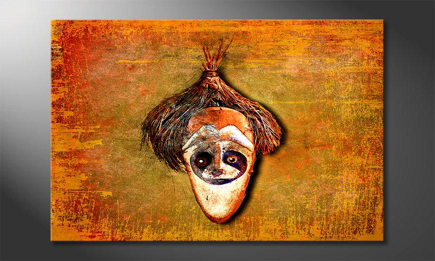 La belle peinture Bloc Head